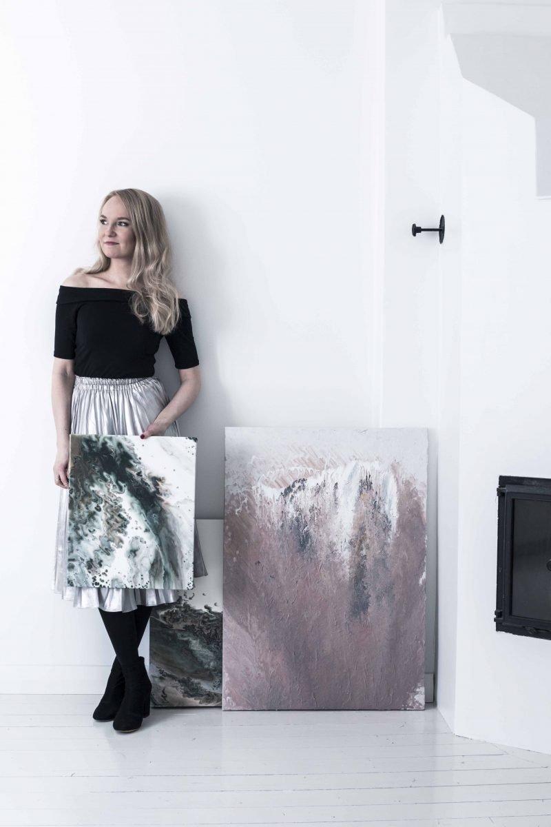 Emma Ivane Artist Abstract Art