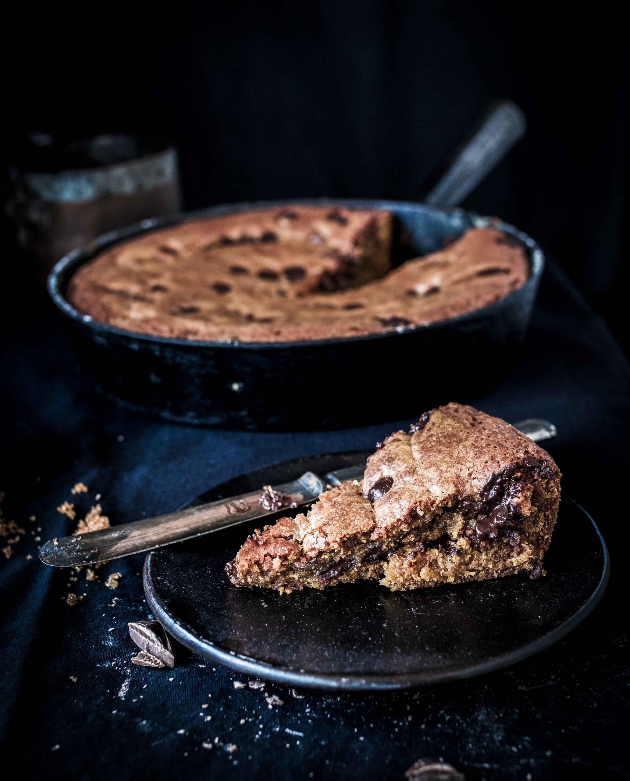 chocolate Skillet cookie