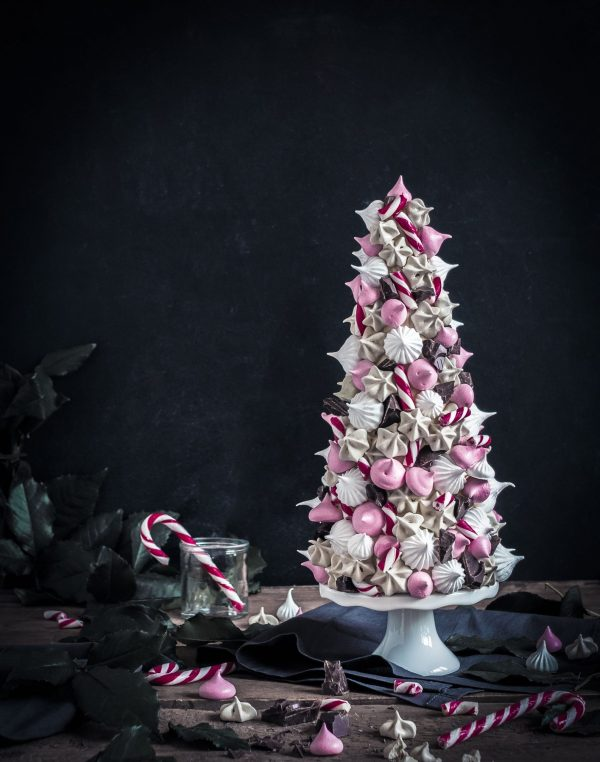 meringue christmas tree - marenkikuusi