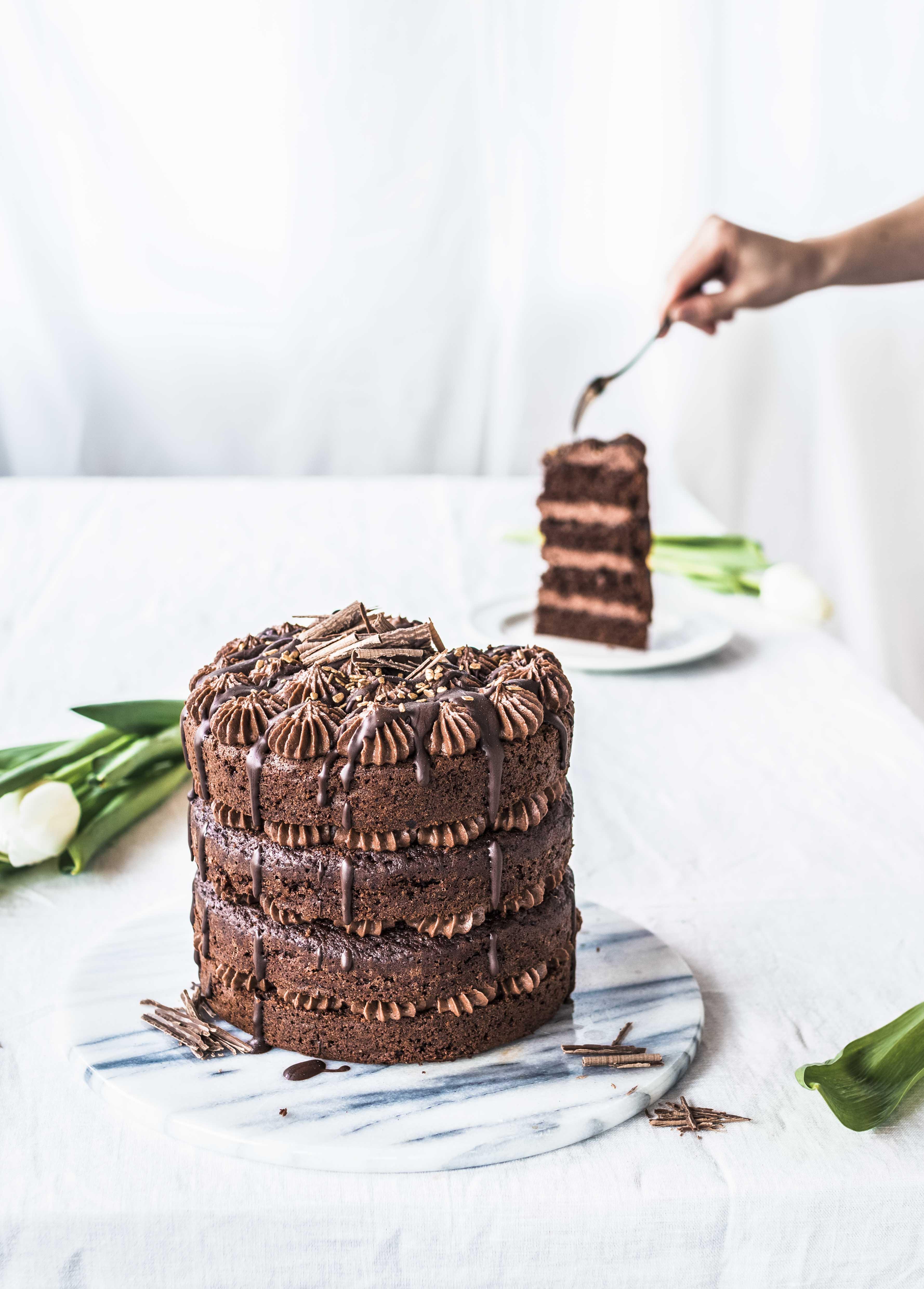 Mokkakakku - Mocha Cake Recipe