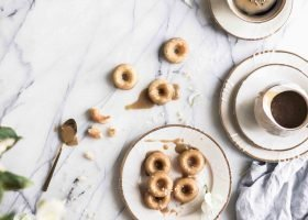 salted caramel donuts recipe