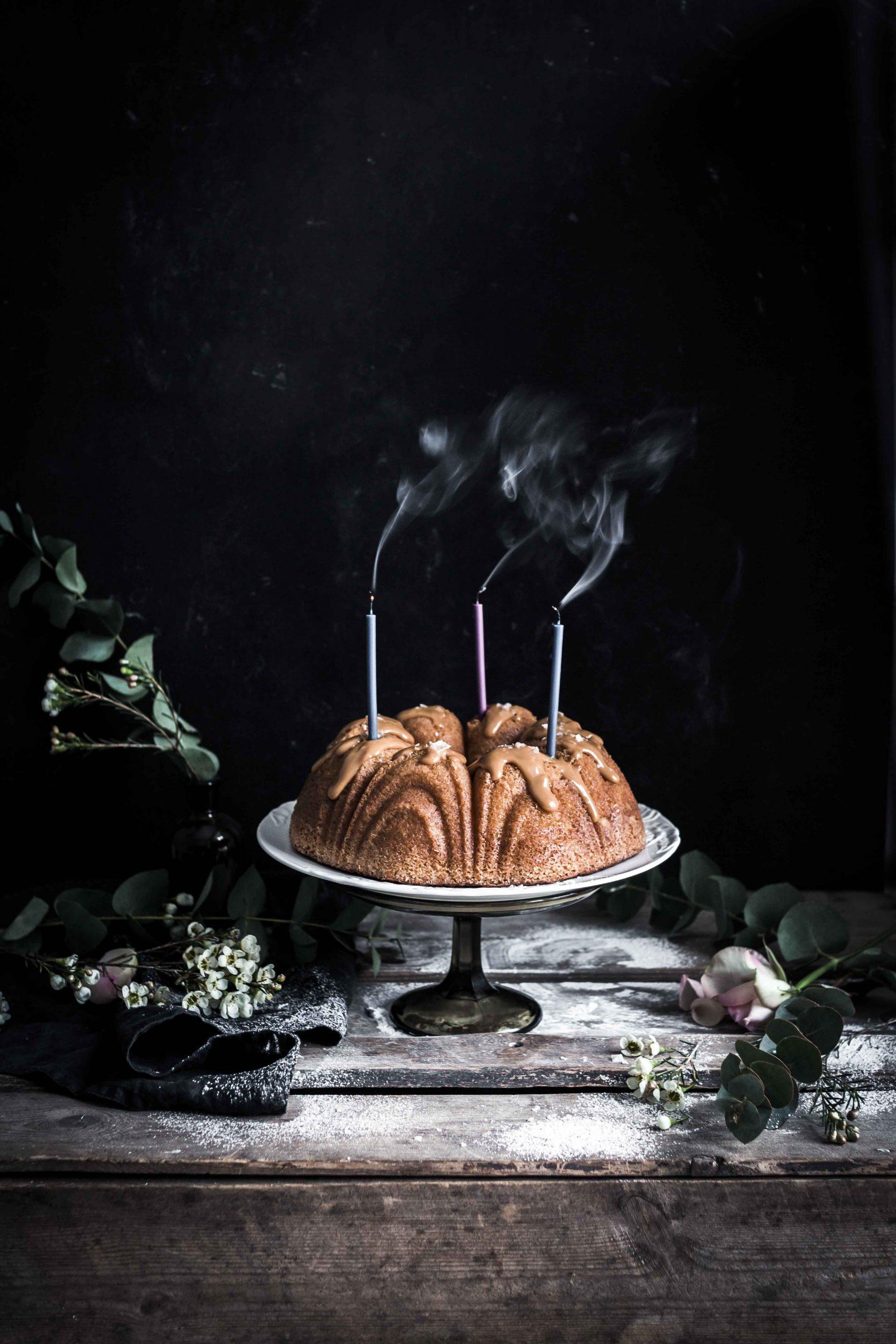 salted caramel cake recipe