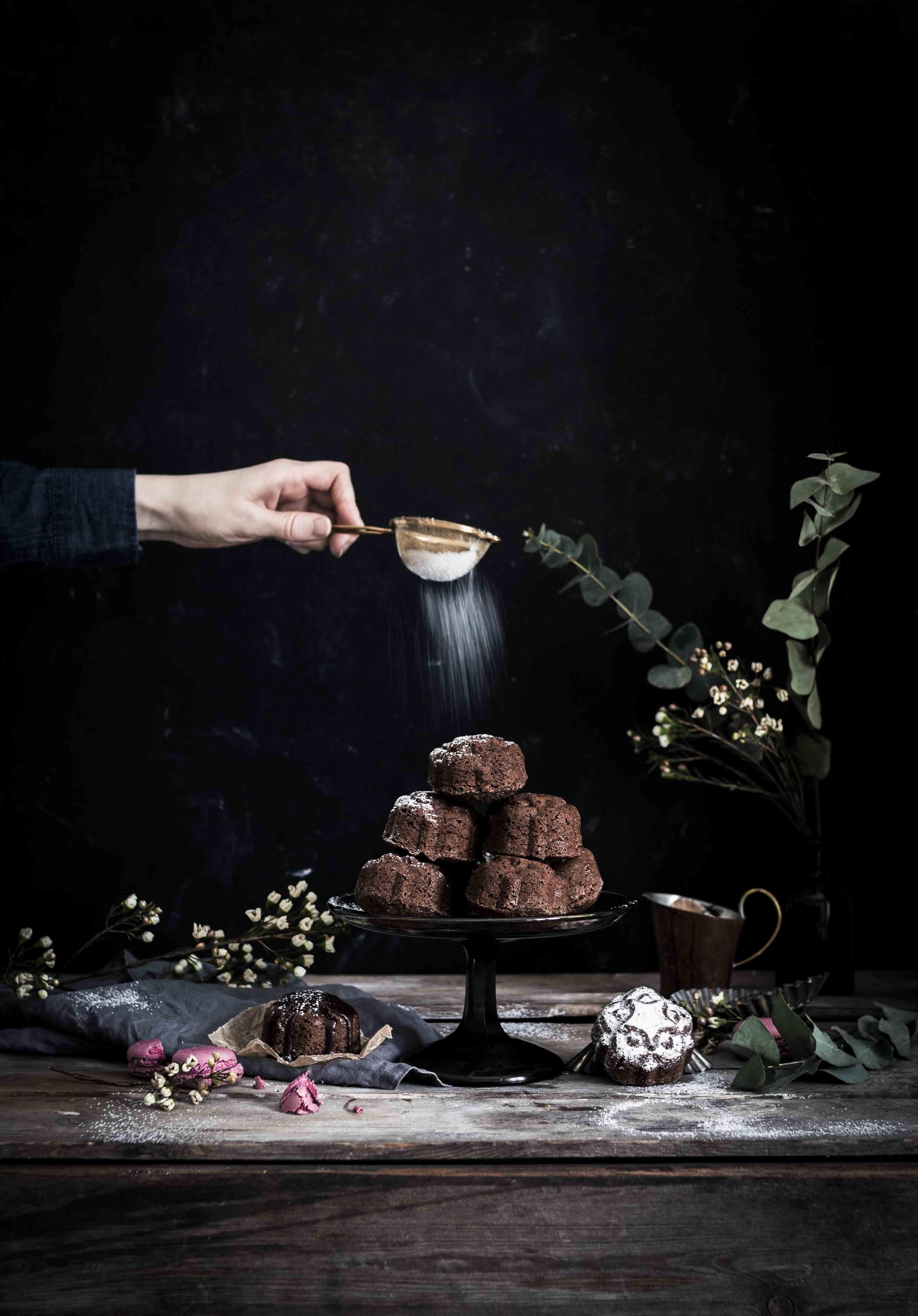 Mocha cakes recipe Mix & Bake Emma Ivane