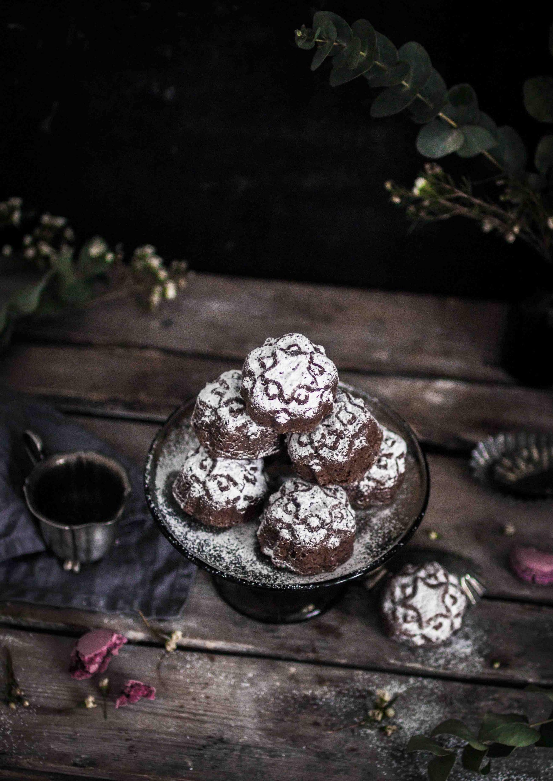 small mocha cakes recipe