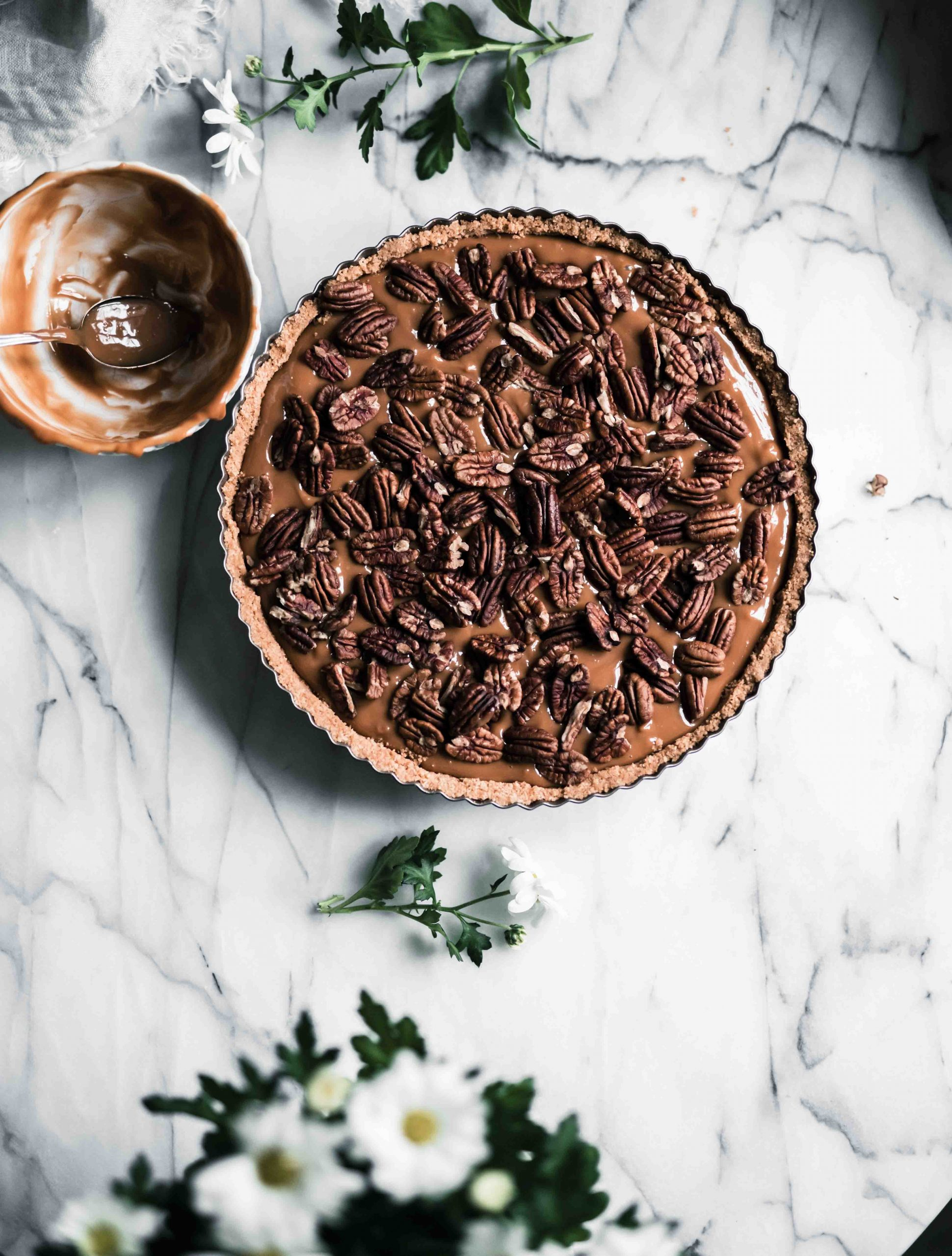 4 ingredient pecan pie recipe
