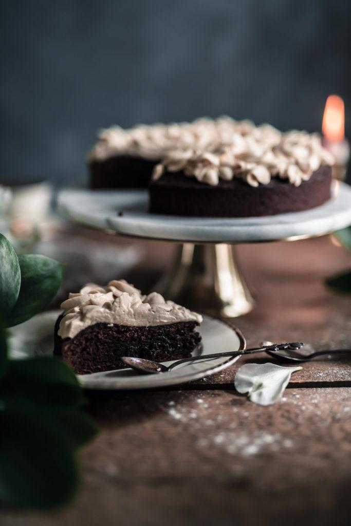 suklaakakku valokuvaus stailaus