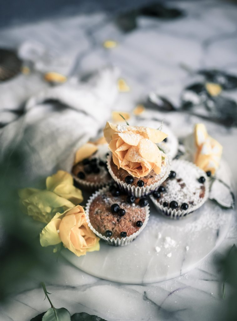 Helpot mustikkamuffinssit resepti