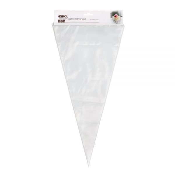 kertakäyttöiset pursotinpussit 45 cm heirol
