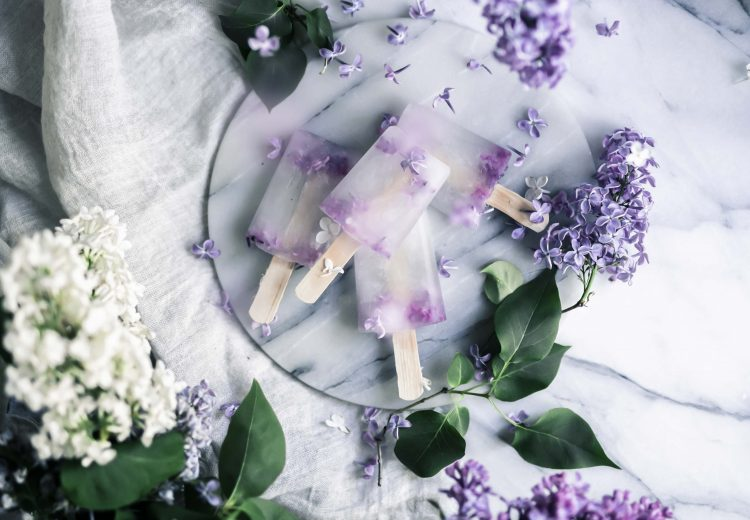 Elderflower popsicles recipe
