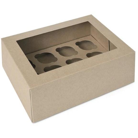 Mini-muffinilaatikko 12 koloa